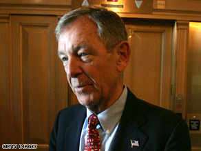 Sen. George Voinovich, a Republican from Ohio, will retire from the Senate when his term is up in 2010.