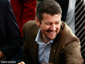 Todd Palin, shown campaigning in Virginia in 2008, didn't testify, but submitted a statement in the case.