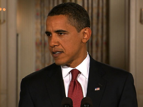 Barack Obama holds his first prime time news conference Monday.