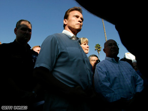Gov. Arnold Schwarzenegger warned lawmakers about potential job cuts last week.