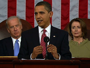 A poll after President Obama's speech suggests it was received well by the majority of those who watched.