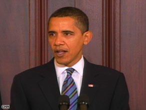 President Obama says he can halve the deficit by 2013.