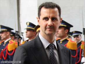 The Obama administration's success in the Middle East could rest with Syria and its president, Bashar al-Assad.