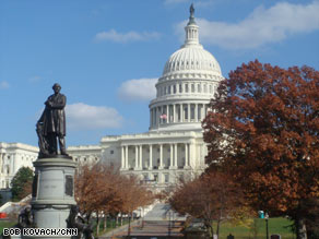 The Senate is taking up a bill to fund the government through the end of the fiscal year.