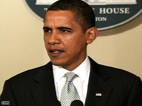 President Obama says future earmarks should be made public on lawmakers' Web sites.
