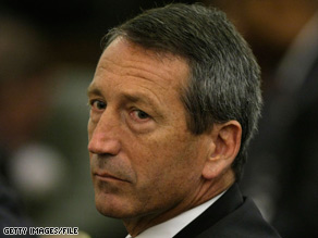 South Carolina Mark Sanford says he does not want to spend money that his state doesn't have.