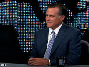 Mitt Romney said President Obama's 'Tonight Show' appearance wasn't the right timing.