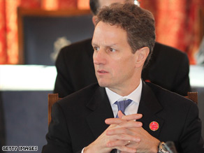 Treasury Secretary Tim Geithner has faced stiff criticism over his handling of the financial crisis.
