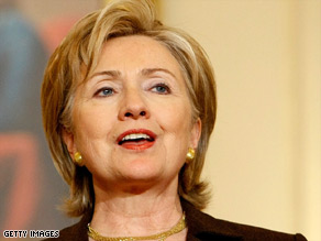 Secretary of State Hillary Clinton is in Mexico.