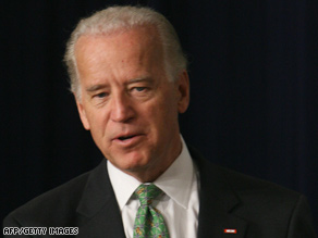 Vice President Biden says the checks will make a big difference for older Americans and those with disabilities.