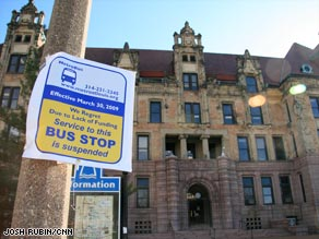St. Louis, Missouri, is having to cut back on bus routes. This could devastate some of the area's most vulnerable.