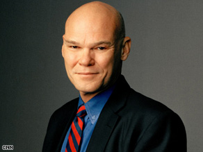 James Carville says the president's trip to England was a success.