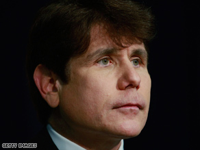 Former Illinois Gov. Rod Blagojevich is facing such charges as racketeering, conspiracy and wire fraud.
