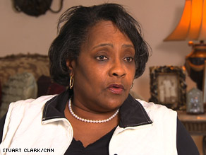 Brenda Carter worked at a GM plant in Tennessee for 20 years before retiring.