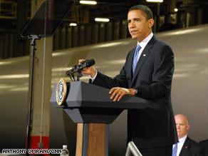 President Obama unveils a new energy initiative Wednesday in Newton, Iowa.