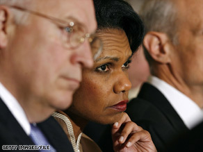 Dick Cheney and Condoleezza Rice were among the officials who OK'd the use of waterboarding, a report says.