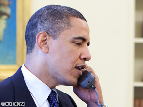 President Obama called Sen. Arlen Specter after Specter switched from the Republican to the Democratic Party.