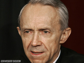 David Souter has served more than 18 years on the Supreme Court.