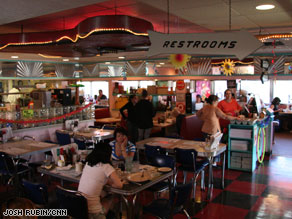 The Tilt'n Diner hosted all the major presidential candidates during the primaries in 2008.