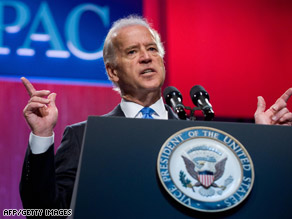Vice President Joe Biden's recent comments on Israel worried some law-makers.