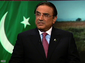 Pakistani President Asif Ali Zardari will meet with Afghanistan's president and President Obama.
