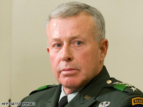 Gen. David McKiernan will be replaced as commander of NATO forces in Afghanistan, officials say.