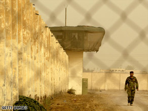 Photos were leaked in 2004 showing U.S. troops abusing detainees at Abu Ghraib prison in Iraq.