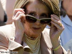Nancy Pelosi has been an easy target for Republican ire.