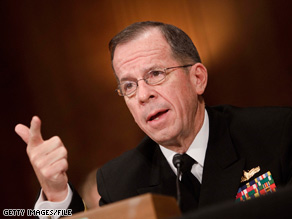 Adm. Mike Mullen says it will take a few days to verify that North Korea conducted a nuclear test.