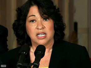 If confirmed, Sonia Sotomayor would be the sixth Catholic justice on the U.S. Supreme Court.