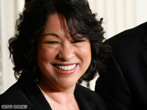 Judge Sonia Sotomayor would be the first Hispanic woman to serve on the Supreme Court.