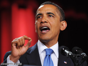 President Obama, speaking in Cairo, Egypt, urges a new chapter in ties between the U.S. and the Muslim world.