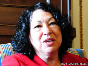 High court nominee Sonia Sotomayor was on the federal appeals court that backed New Haven, Connecticut.