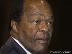 Former D.C. Mayor Marion Barry was arrested July 4 and charged with stalking, police said.