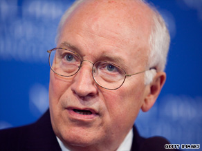 Former Vice President Cheney reportedly told the CIA to withhold information about a counterterrorism program.