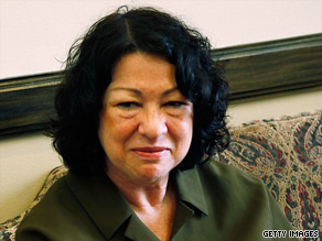 Sonia Sotomayor appears to view the Constitution much like retired Justice David Souter did.