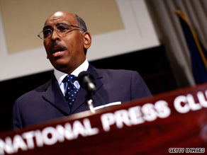 Republican National Committee Chairman Michael Steele on Monday criticizes Democratic health plans.