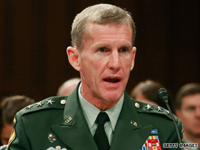 Gen. Stanley McChrystal's report on the war's status will be delivered in August, the source says.