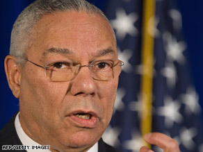 Former Secretary of State Colin Powell said he has been subject to racial profiling.