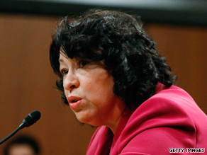 Sonia Sotomayor, 55, will be the first Hispanic on the Supreme Court.