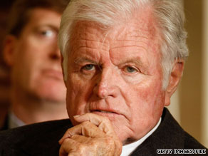 Sen. Edward Kennedy, D-Massachusetts, has championed universal health care for years.