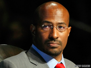 Van Jones resigned from his 'green jobs czar' post amid criticism.