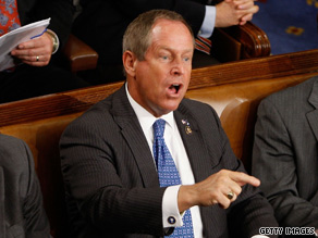 Rep. Joe Wilson shouts, ''You lie!'' after President Obama denies the health plan would cover illegal immigrants.