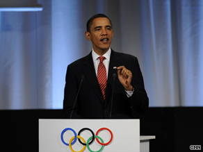 President Obama personally appealed to IOC members for the 2016 Summer Olympics Games to be in Chicago.
