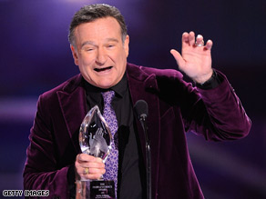 Robin Williams was on an 80-city tour for his one-man show.