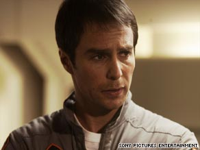 Sam Rockwell plays a moon worker nearing the end of his contract with Lunar Industries which mines precious gas, Helium-3.