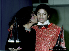 Michael Jackson and Diana Ross at the 1981 American Music Awards.
