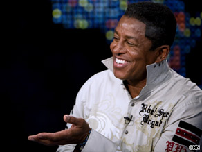 Jermaine Jackson tells CNN's Larry King that brother Michael's resting place is still undetermined.
