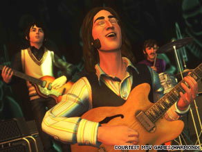 The new Beatles videogame allows fans to strum along with their musical heroes.