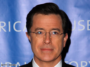NASA will name an orbital exercise machine after comedian Stephen Colbert.